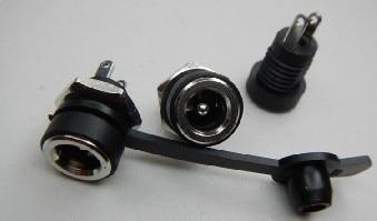 100 комплекты DC-022B 5,5*2,1/5,5x2,1 мм DC Мощность розетка/коннектор питания постоянного тока Панель крепления 100 шт. DC-022B & 50 шт. водонепроницаемый голо...