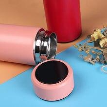 500ml Termo su şişesi garrafa termica термос termos para agua paslanmaz çelik akıllı sıcaklık LED ekran vakum seyahat kupa