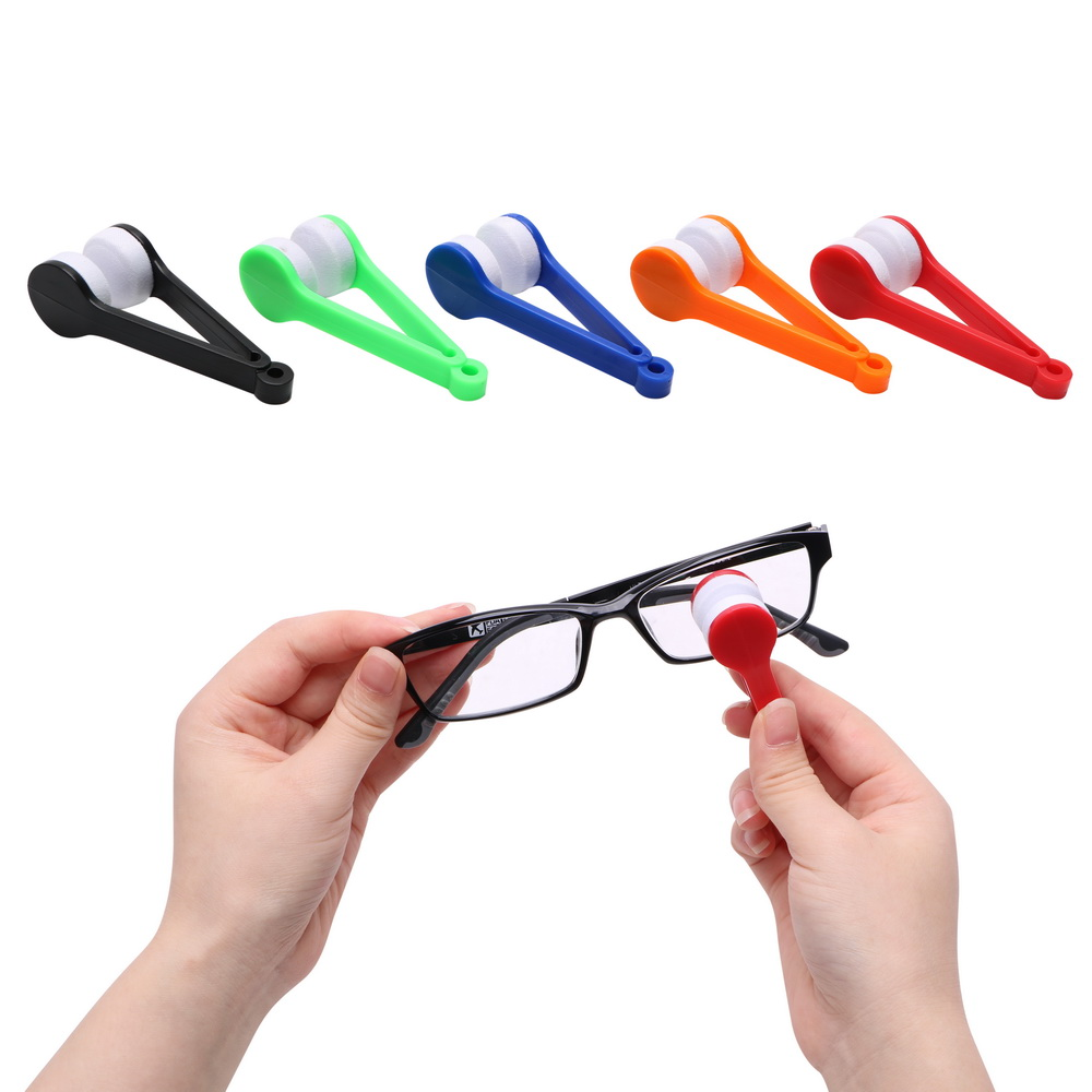 NICEYARD Mini Microfiber Soft Glasses Cleaning Brush Sun Glasses Cleaner Portable Sun Eyeglasses Wiper Cleaning Tools