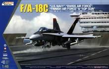 Kinetic K48031 1/48 F/A-18C US Navy,Swiss,Finnish Air Force &
