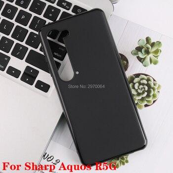 Перейти на Алиэкспресс и купить Для Sharp Aquos R5G S2 R R3 V Zero 2 S3 чехол для телефона черный мягкий TPU чехол для Sharp Aquos Sense 3 Lite Plus силиконовый чехол для задней панели