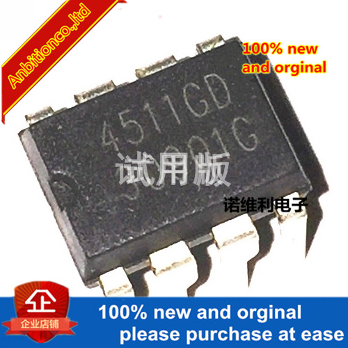 10pcs 100% New Original  AP4511GD 4511GD DIP-8 High-voltage Board Driver Chip In Stock