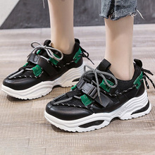 Chunky Sneakers Fashion Women Vulcanize Shoes
