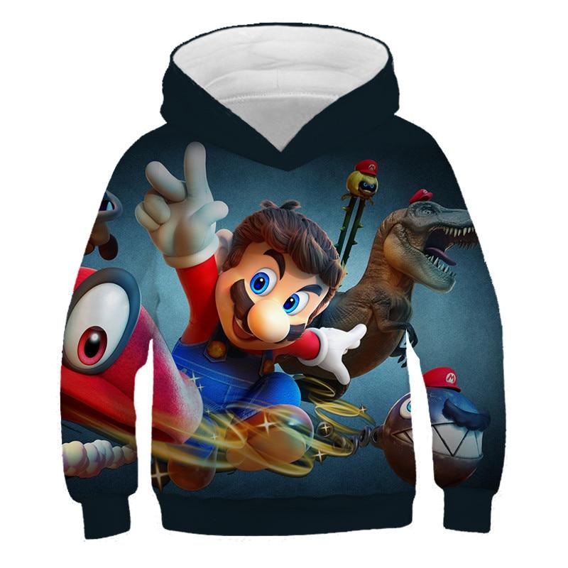 John J Littlejohn Super-Smash-Bros KidS Hooded Sweater 3d Print Sweatshirts Youth Hoodies Pullover Unisex Hooded Sweatshirt