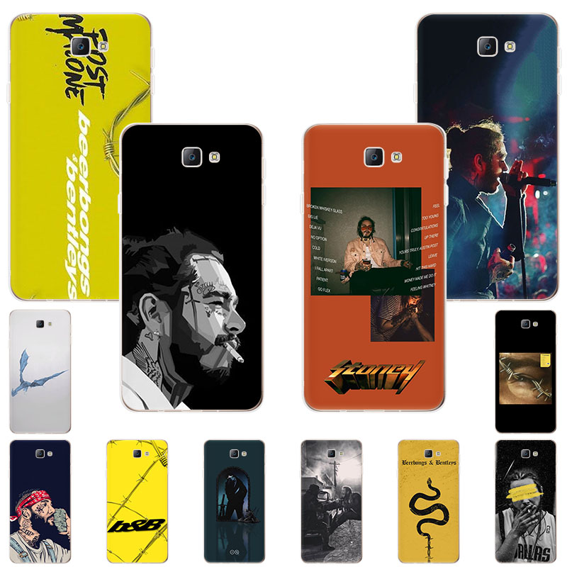Post Malone Beerbongs Soft TPU phone case for Samsung Galaxy A8star A92019 A6 A8plus A5 A7 <font><b>A82018</b></font> A80 A70 A50 A3 fashion cover image