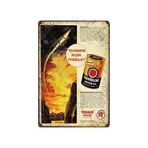 Ретро Оловянная металлическая табличка Винтаж таблички стены паба домашнего искусства Декор автомобиля Железный плакат куадро SA-6958