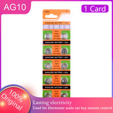 Ycdc 10 pçs 1.5v botão pilha da moeda ag10 relógio bateria sr54 389 189 lr1130 botão pilha 189 lr54 389 sr1130 bateria alcalina substituir