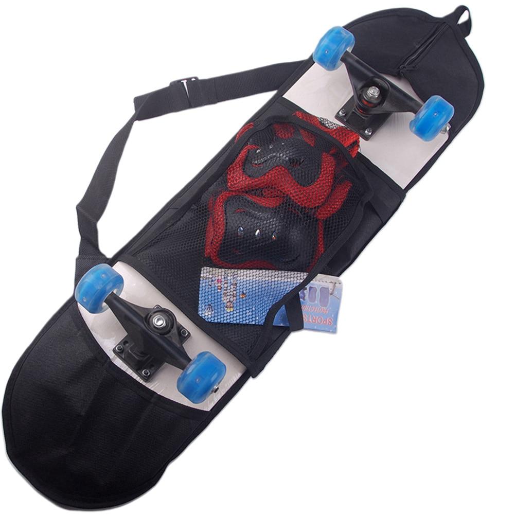 Thicken Travel Multifunctional Solid Singe Shoulder Skateboard Bag Accessories Carry Backpack Cover Professional Adjustable