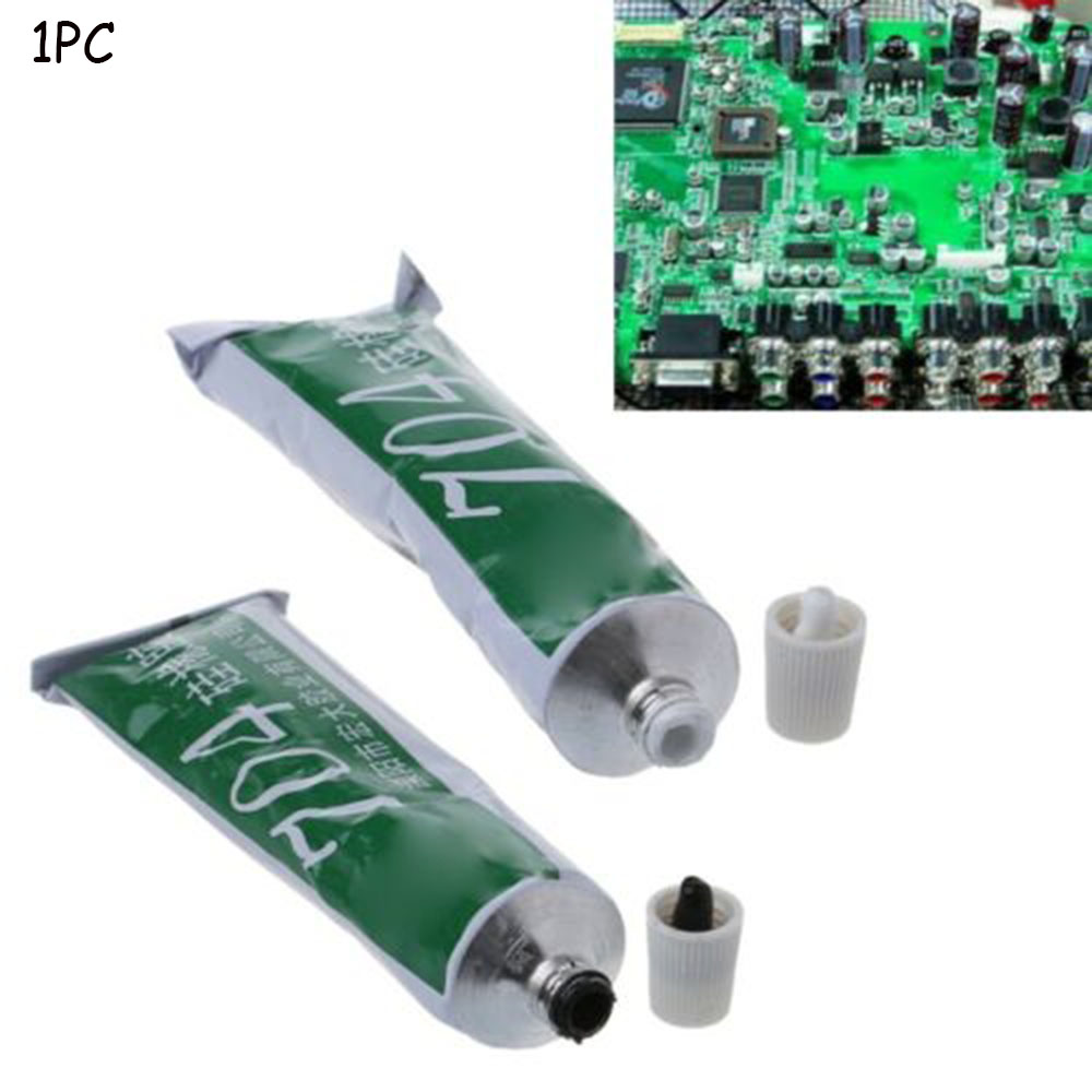 1 шт. 704 фиксированный высокотемпературный силиконовый резиновый уплотнительный клей, водонепроницаемый новый изоляционный Электронный Ге...
