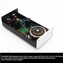 STUDER900 fuente de alimentación lineal DC12V 2.5A 30W, decodificador de Audio DAC, adaptador de corriente profesional, regulador