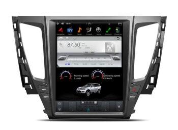 CHOGATH 12.1 ''android 7.1 Vertical Screen system 2+32G Car Radio GPS Multimedia Stereo for Mitsubishi pajero 2017 gps radio