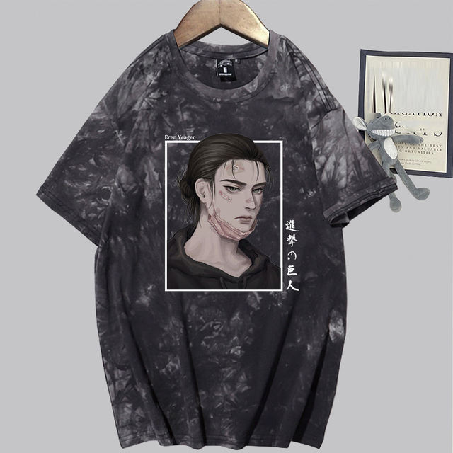 EREN YEAGER ATTACK ON TITAN THEMED T-SHIRT