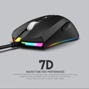 Image 2 - Fantech x14s óptico ajustável 4000dpi 7d macro profissional com fio mouse para mouse gamer essencial ergonômico mouse
