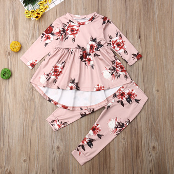 turkey print set newborn kids baby boy girl clothes my first thanksgiving letter long sleeve boysuit pants outfits set 0 2t Pudcoco Autumn Newborn Baby Girl Clothes Long Sleeve Flowe Print Ruffle Tops Long Pants 2Pcs Outfits Clothes Autumn Set