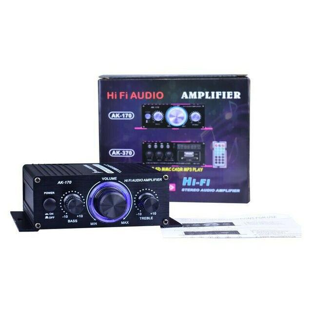 400W HIFI Digital Stereo Audio Sound Power Amplifier  6