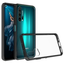 For Huawei Nova 5T Case Crystal Hybrid Bumper Clear Hard Acr