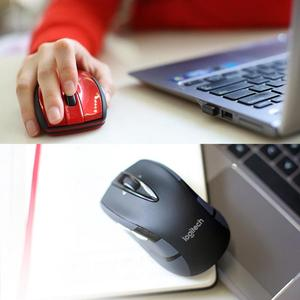 Image 2 - Logitech M545/M546 2.4GHz 무선 레이저 마우스 인체 공학적 광학 게임 1000 DPIMice for Laptop Desktop PC