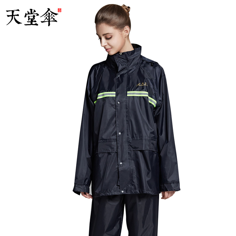 Scooter Jacket Raincoat Women Pants Set Outdoor Plastic Men Raincoat Survival Waterproof Regenpak Dames Girls Rain Poncho JJ60YY
