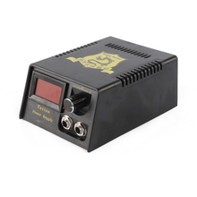 Newest Digital Tattoo Power Supply + Foot Pedal +Clip Cord Pro Double Output Kit for Machine P142