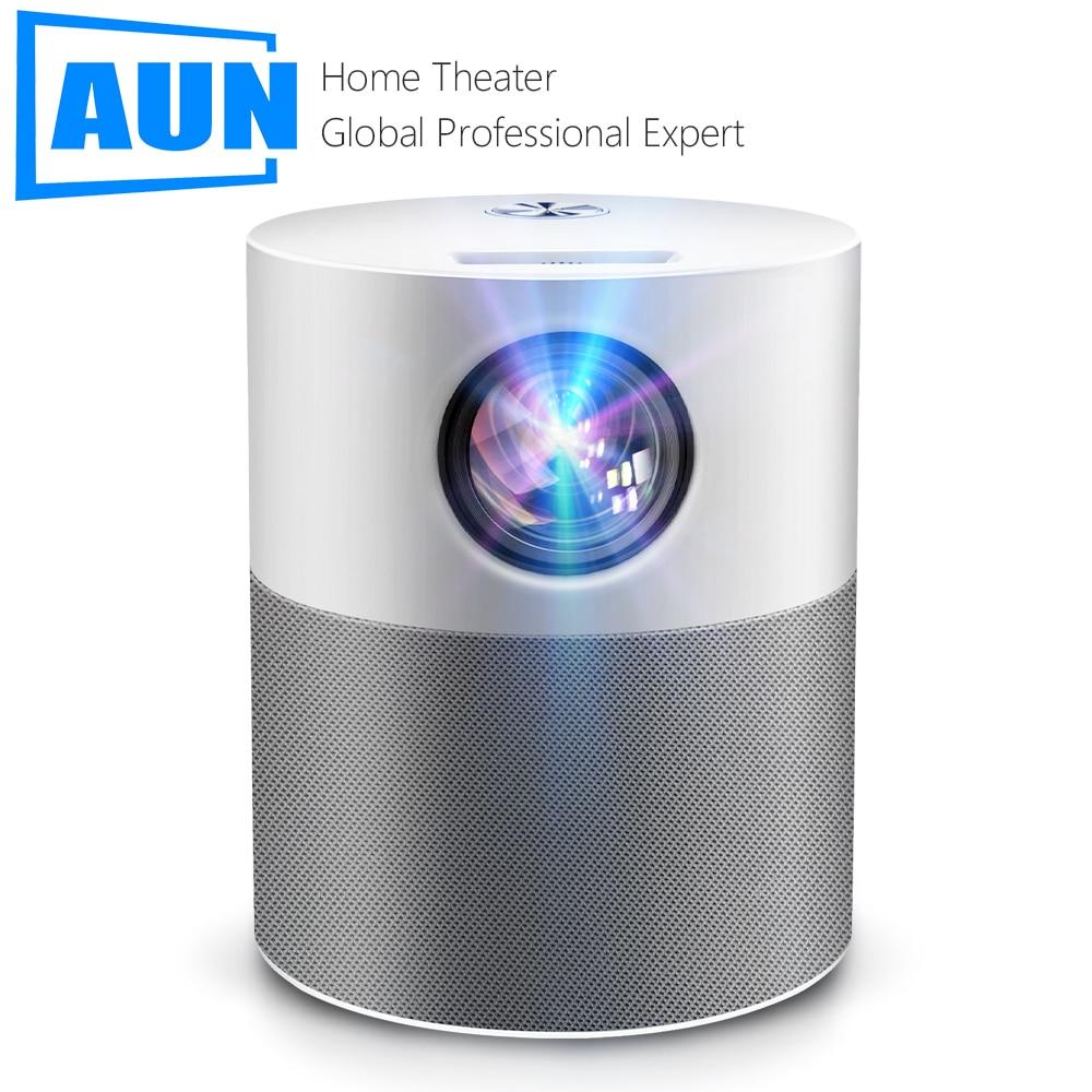 AUN ET40 Проектор Full HD 1080p Android 9 светодиодный мини-проектор 4k декодирование видео проектор для домашнего кинотеатра мобильного телефона