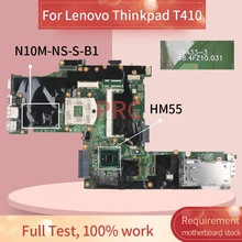 Placa base 63Y1487 para placa madre del cuaderno Lenovo Thinkpad T430 N10M-NS-S-B1 09A33-3 QM57 DDR3