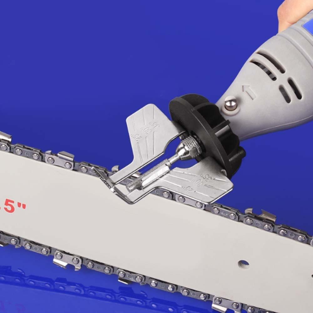 4mm 4.4mm 5mm Diamond Chainsaw Grinding Head Sharpener Polishing Burr Stone File Chain Saw New