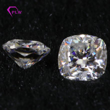 D Color Lab Grown Moissanite Diamond 2 Carat 7*7 mm Cushion Cut VVS 3 Excellent Gemstones For Ring Bracelet Necklace Earring(China)