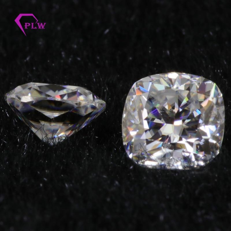 Venta al por mayor precio D Color laboratorio creado Moissanite 0,6 quilates 5*5mm VVS 3 excelente corte de cojín para anillo pulsera de pendiente de collar-in Diamantes y piedras preciosas sueltas from Joyería y accesorios    1