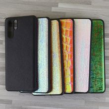 for huawei p20 lite case leather p30 P20 Pro P30 silicon Anti fall cover