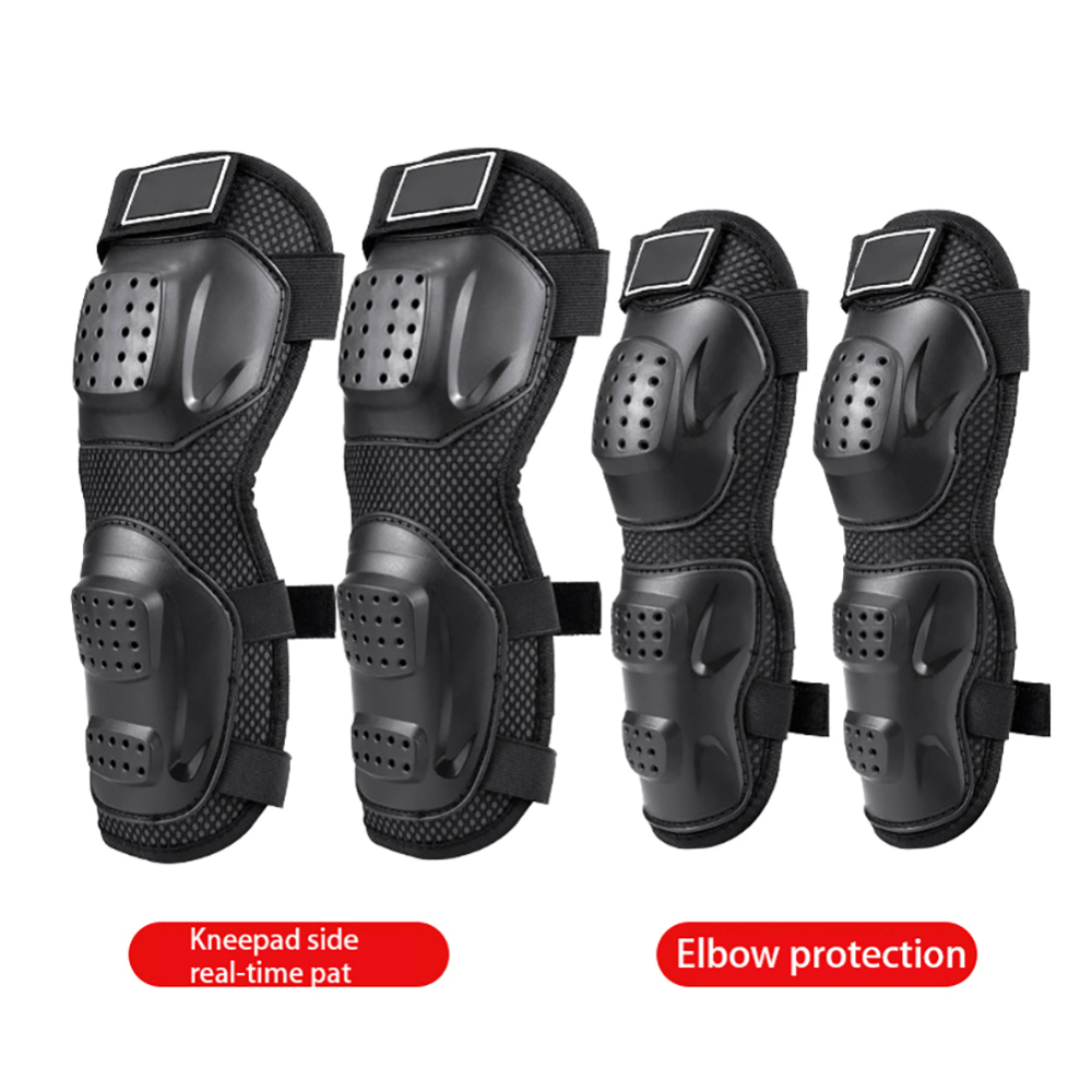 4pcs Motorcycle Elbow Protector Knee Pads Safety Protective Gear Moto Accessories Kneepad Protection