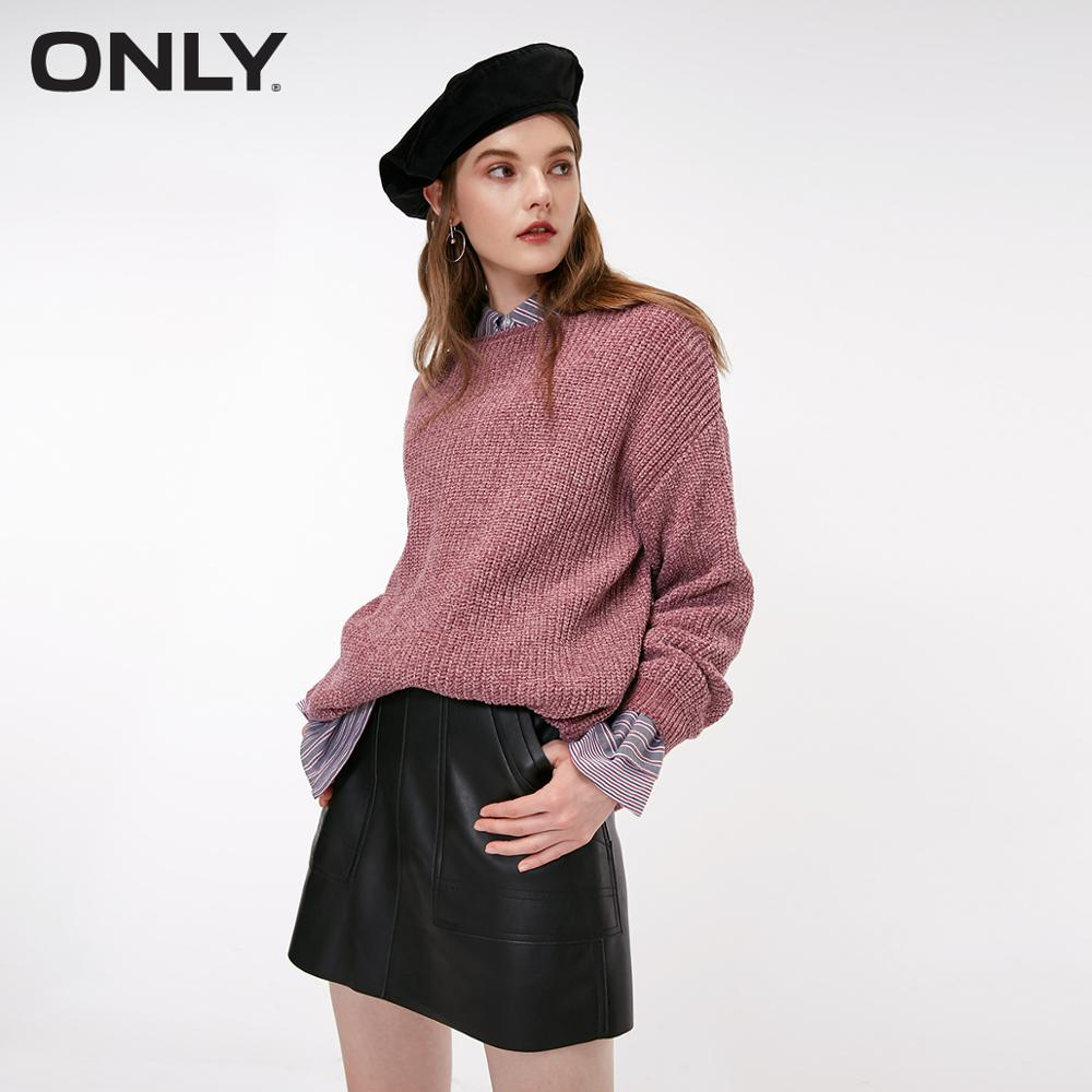 ONLY Women's Autumn New Casual Loose Sweater Hoodie Sweatshirts  |  118324555