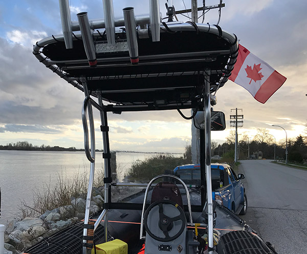 Dolphin Pro2 Boat T Top Enclosure