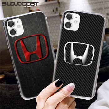 Hrmes Car brand Honda logo Phone Case for iPhone 8 7 6 6S Plus X XS MAX 5 5S SE XR 11 Cover image