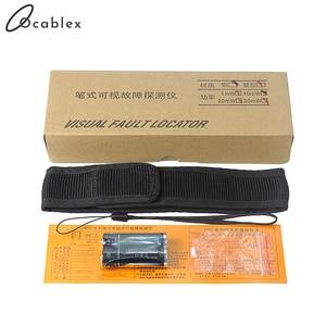 Image 5 - 5km görsel hata bulucu 1mW Fiber optik kalem Fusion lazer Fibra Optica kablo test cihazı