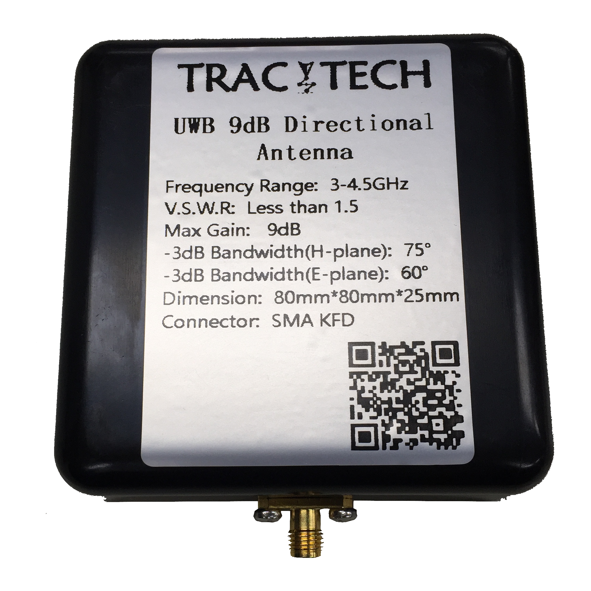 Uwb Antenna, Ultra-wideband 90 Degree Directional Ultra-high Gain Antenna, Indoor Positioning Dw1000 Chip Dedicated