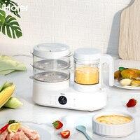 Haier машина для приготовления пищи, пароварка, двойная чашка, машина для добавок, автоматический Электрический измельчитель пищи, кастрюля д