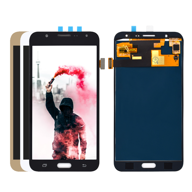 100% Tested Working For <font><b>Samsung</b></font> Galaxy J7 2015 J700 <font><b>SM</b></font>-J700F <font><b>J700H</b></font> J700M J700K LCD Display and Screen Touch Digitizer Assembly image