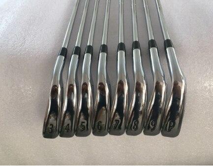 Complètement nouveau 8 pièces 718 AP2 fers de Golf AP2 718 clubs de Golf fers ensemble 3-9P dynamique or acier arbres livraison gratuite