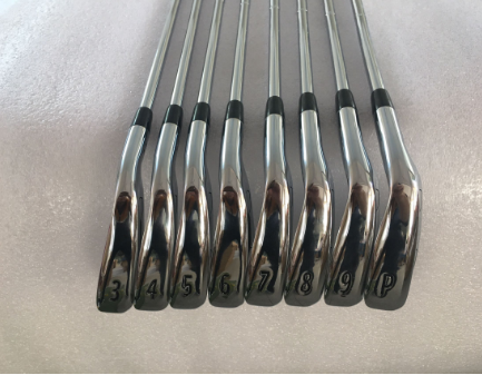Completely New 8PCS 718 AP2 Golf Irons AP2 718 Golf Clubs Irons Set 3-9P Dynamic Gold Steel Shafts Free Shipping