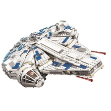 цены Bela 10915 1449Pcs Kessel Run Millennium toys Falcon Building Blocks Bricks Kids Toys Gift Compatible With Star Wars 75212 05142