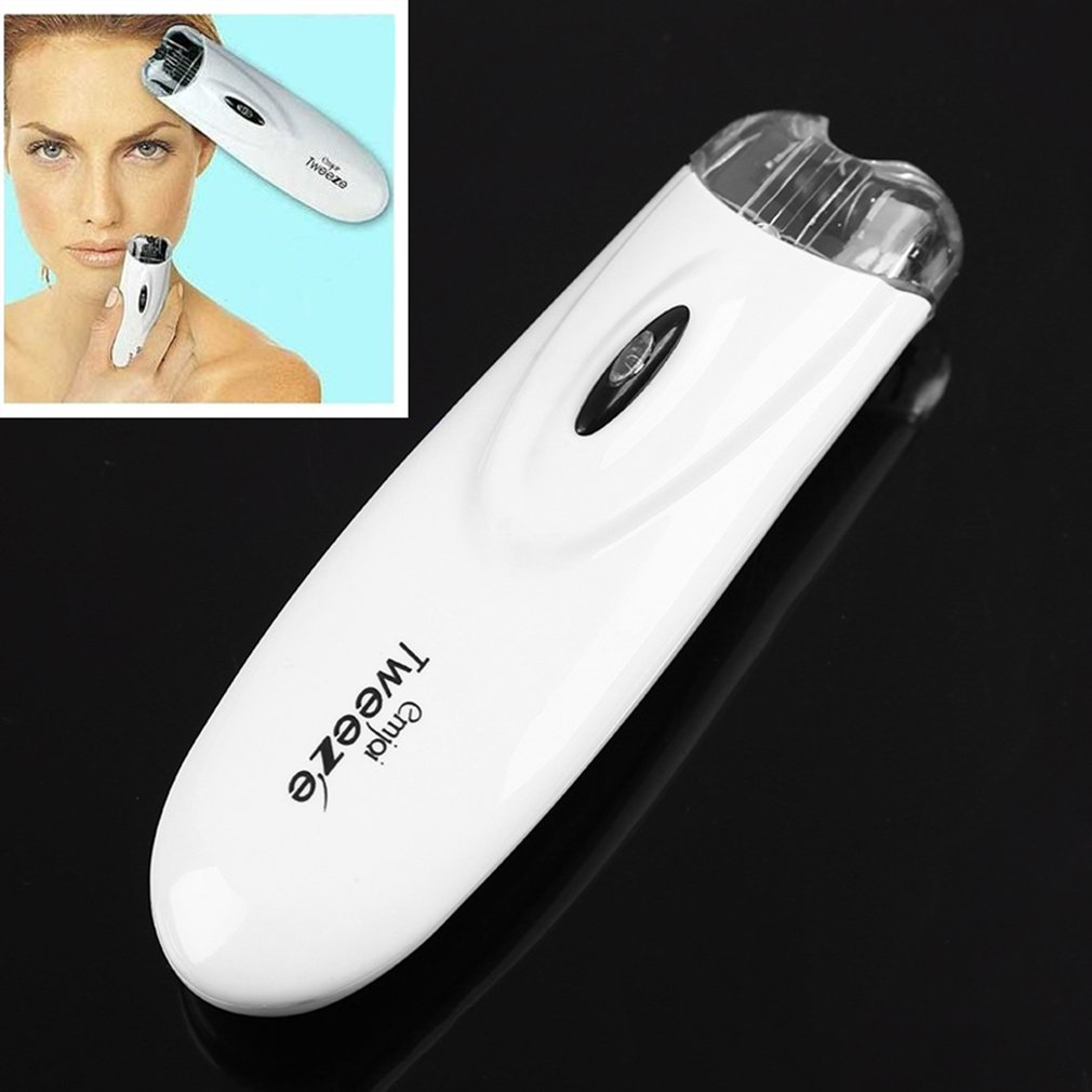Tweezers Facial Hair Remover Epilator Easy No Pain Electric Hair Trimming Knife Durable Beauty Trimmer dropshipping
