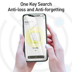 Image 3 - Baseus T2 Mini GPS Tracker Anti Perso Bluetooth Tracker Per La Chiave Del Raccoglitore Del Sacchetto Del Capretto Del Bambino Anti Allarme di Perdita di Smart Tag key Finder Locator