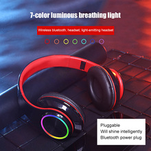 HiFi Wireless Headphones Bluetooth Earphone Bluetooth Headset Foldable Adjustable Handsfree Headset with MIC for mobile phone sports super bass wireless headphones bluetooth earphone with mic hifi stereo bluetooth headsets for phone headset gamer xiaomi