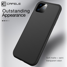 CAFELE Phone Case for iPhone 11 pro max Soft TPU Cover Ultra Thin Matte Cases Apple Full Coveing Shell