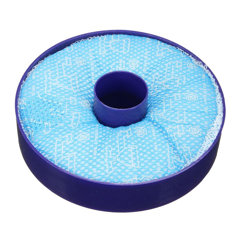 Top-Washable Vacuum Cleaner Pre Motor Allergy HEPA Filter For Dyson DC33 DC33i(blue)