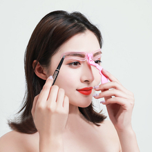 Eyebrow Kits Tool Grooming And Card Makeup Tools Cosmetic Accessoy 4 In1 Muold Template Stencil Drawing
