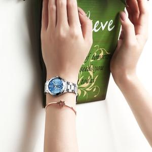 Image 5 - 2020 CHENXI Brand Luxury Stainless Steel Women s Watch Classic Fashion Business Watch Waterproof Quartz Movement Ladies Clock