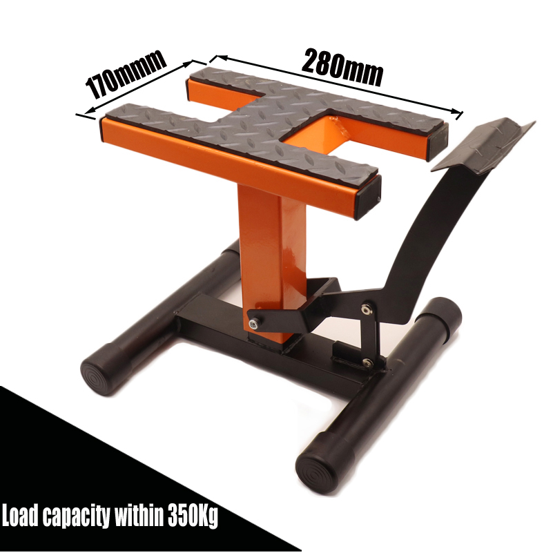 Universal motocross motorcycle repair bench repair stool parking stool maintenance starting car stool parking parking rack