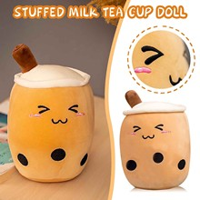 Toy Pillow Plush-Toy Pack Entertainment Stitching-Color Cute Milk -55 24cm Tea-Cup Birthday