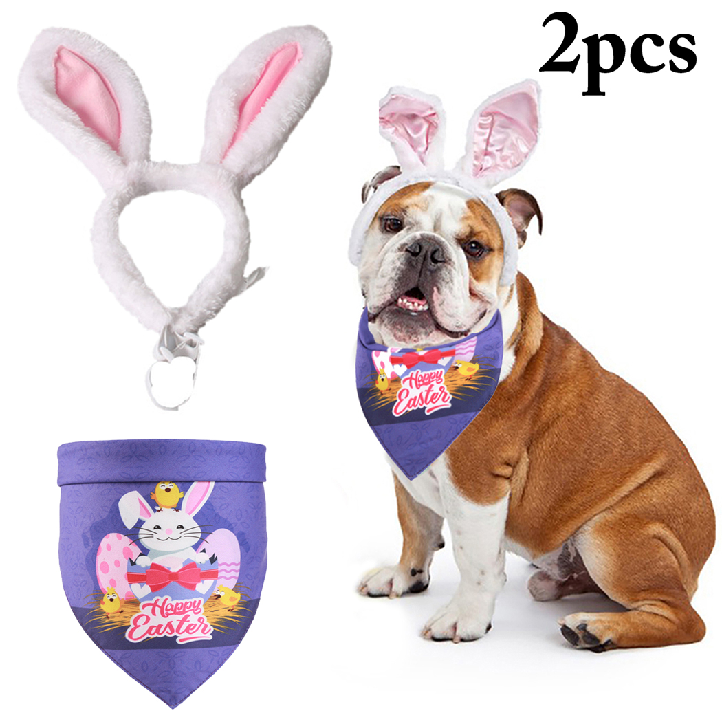 2pcs Easter Costume Set Cute Bunny Ears